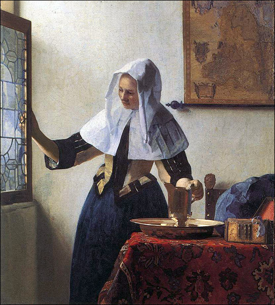 vermeer-johannes-young-woman-with-a-water-jug-1661